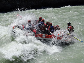 rafting non stop